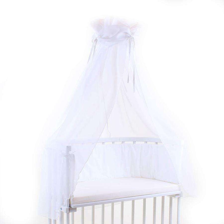 babybay Sänghimmel vit/vit
