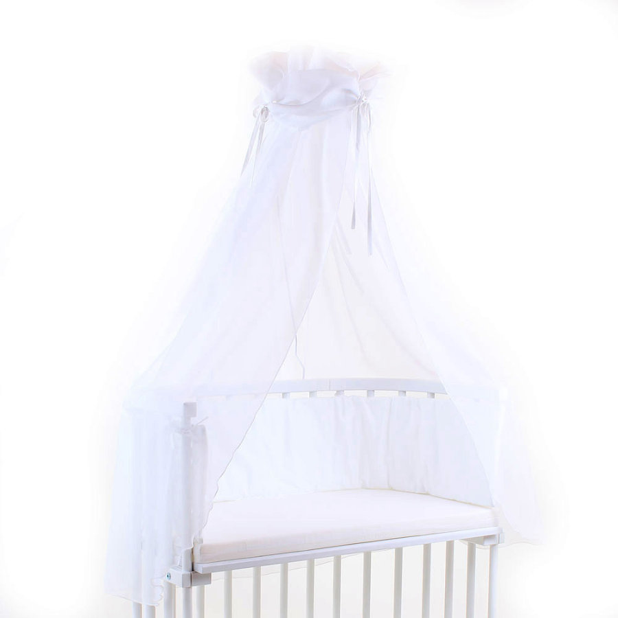 TOBI BABYBAY Cielo de cuna blanco/blanco