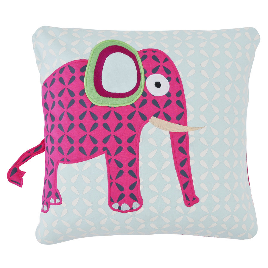 LÄSSIG Polštářek Cushion Wildlife Elephant