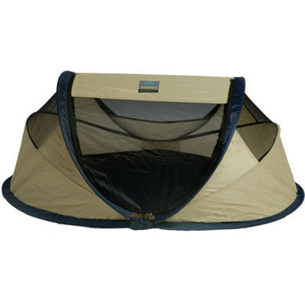 Deryan Travel Bed / Travel Cot Baby Tent Khaki