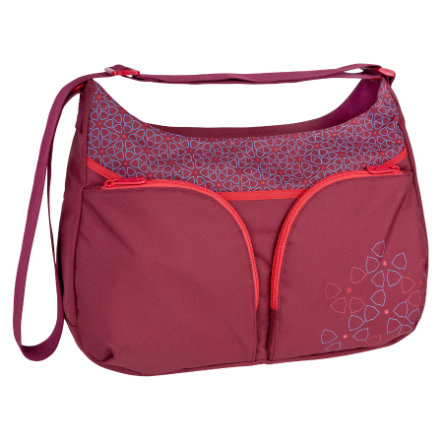 LÄSSIG Wickeltasche Basic Shoulder Bag Mosaic rumba red