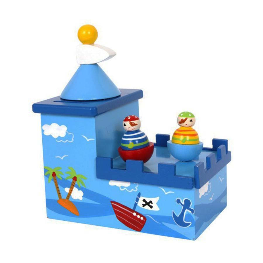 LEGLER Hrací hračka & pokladnička Olli & Bolli
