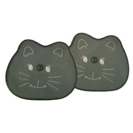 KAUFMANN Sunshade for Car Windows Double Pack Cat