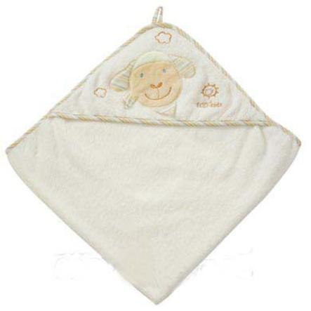 Babysun Serviette de bain à capuche Baby Love Paul mouton