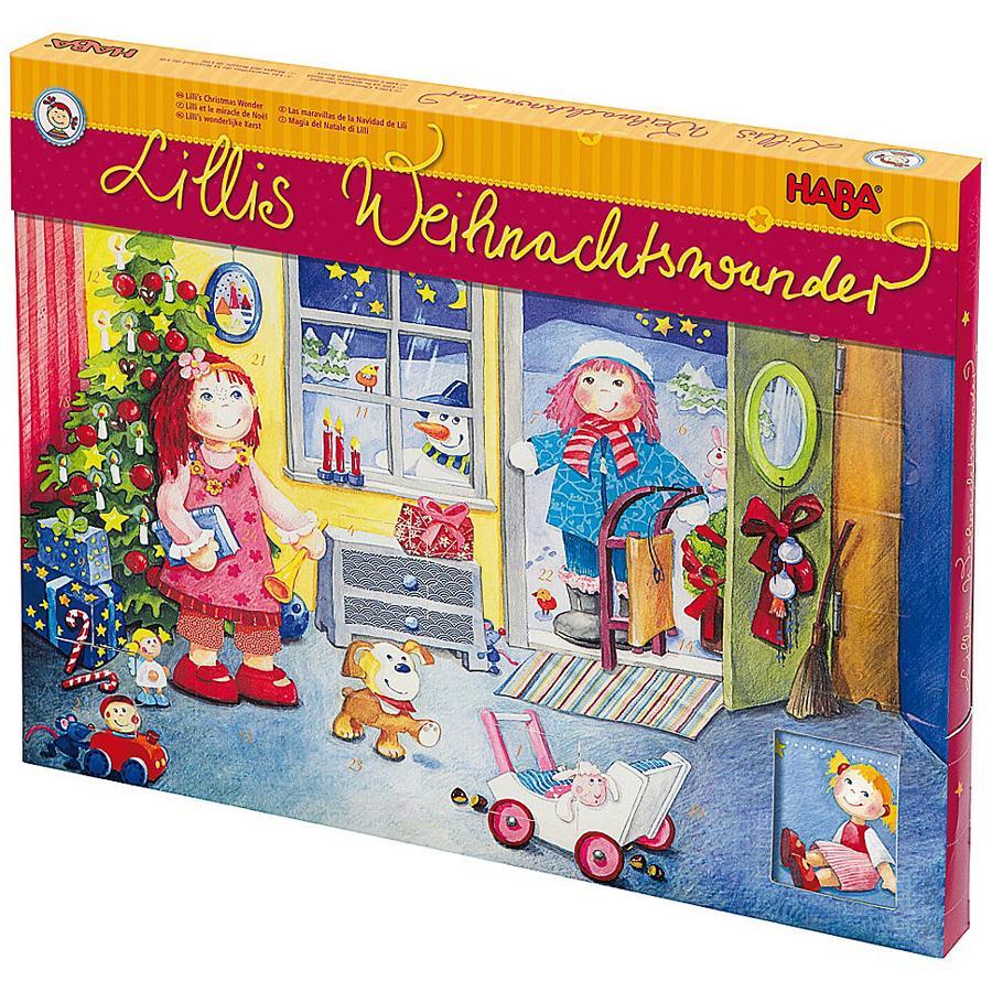 HABA Calendario dell'Avvento - Il Miracolo di Natale di Lilli