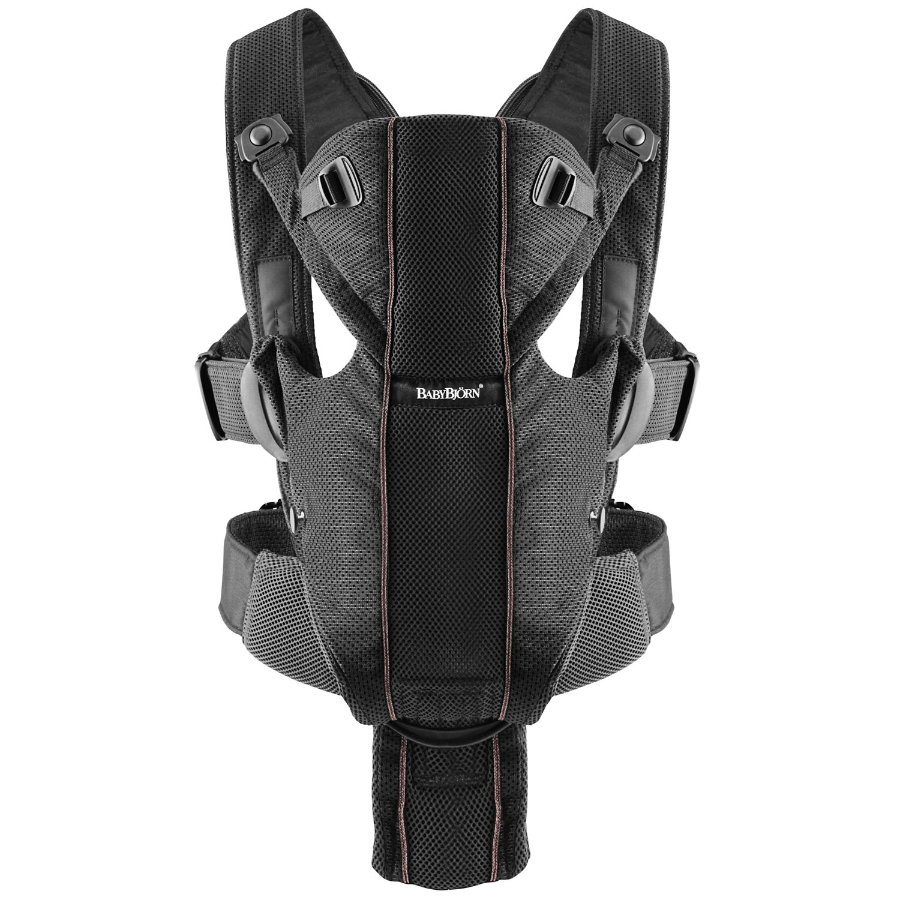 BABYBJÖRN Baby Carrier Miracle Black Mesh