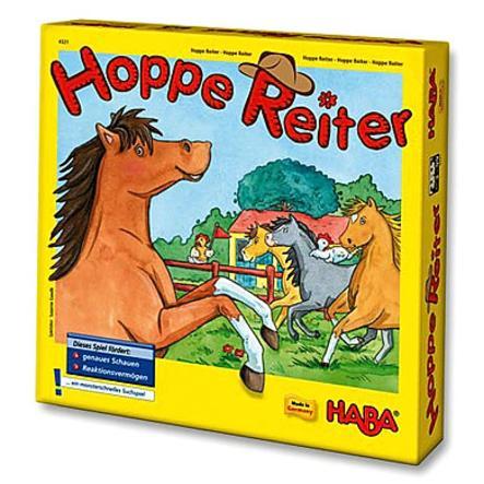 HABA Mitbringspiel Groß  Hoppe Reiter 4321