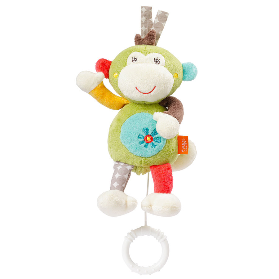 FEHN Mini-Spieluhr Affe - Safari