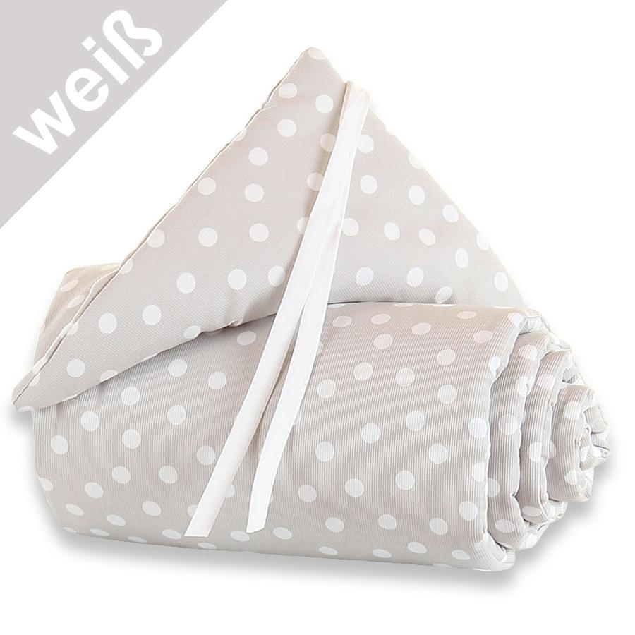 babybay Nestchen Maxi Punkte weiß