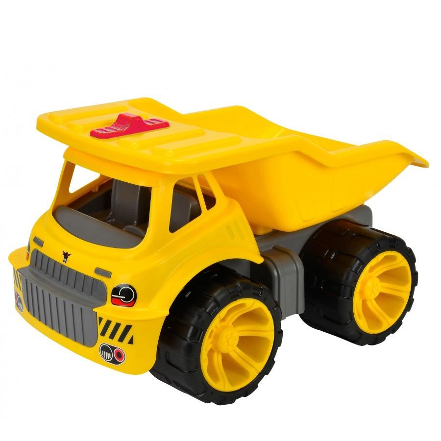 BIG Power-Worker Lastebil Maxi Truck - gul