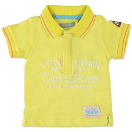 TRICKY TRACKS Boys Mini Poloshirt gelb