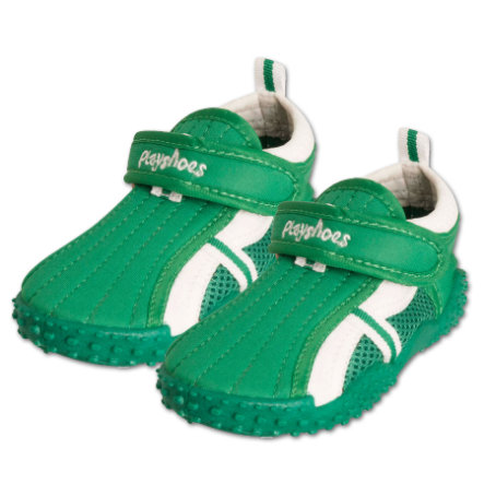 PLAYSHOES Chaussures de bain protection UV 50+ vert sportive