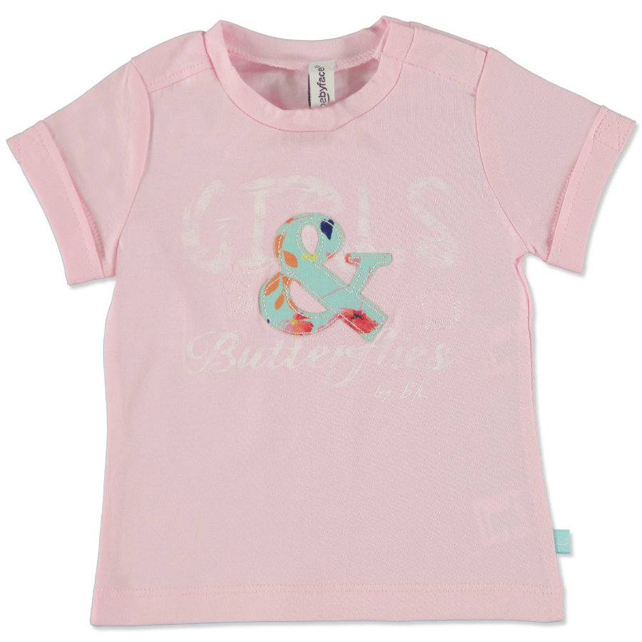 BABYFACE Girls Mini T-Shirt applic rose