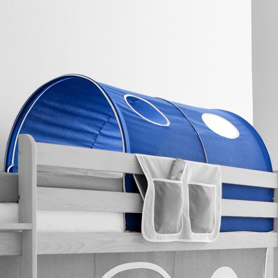 TICAA tunel na patrové a dvoulůžkové patrové postele modrý