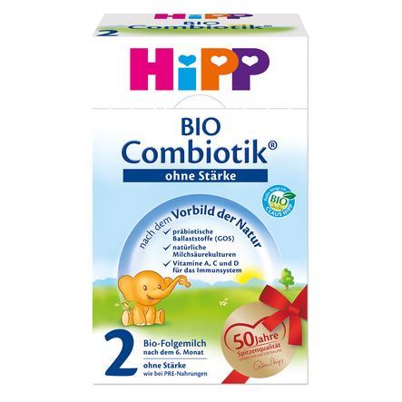 HiPP 2 Bio Combiotik ® Folgemilch 600 g ohne Stärke