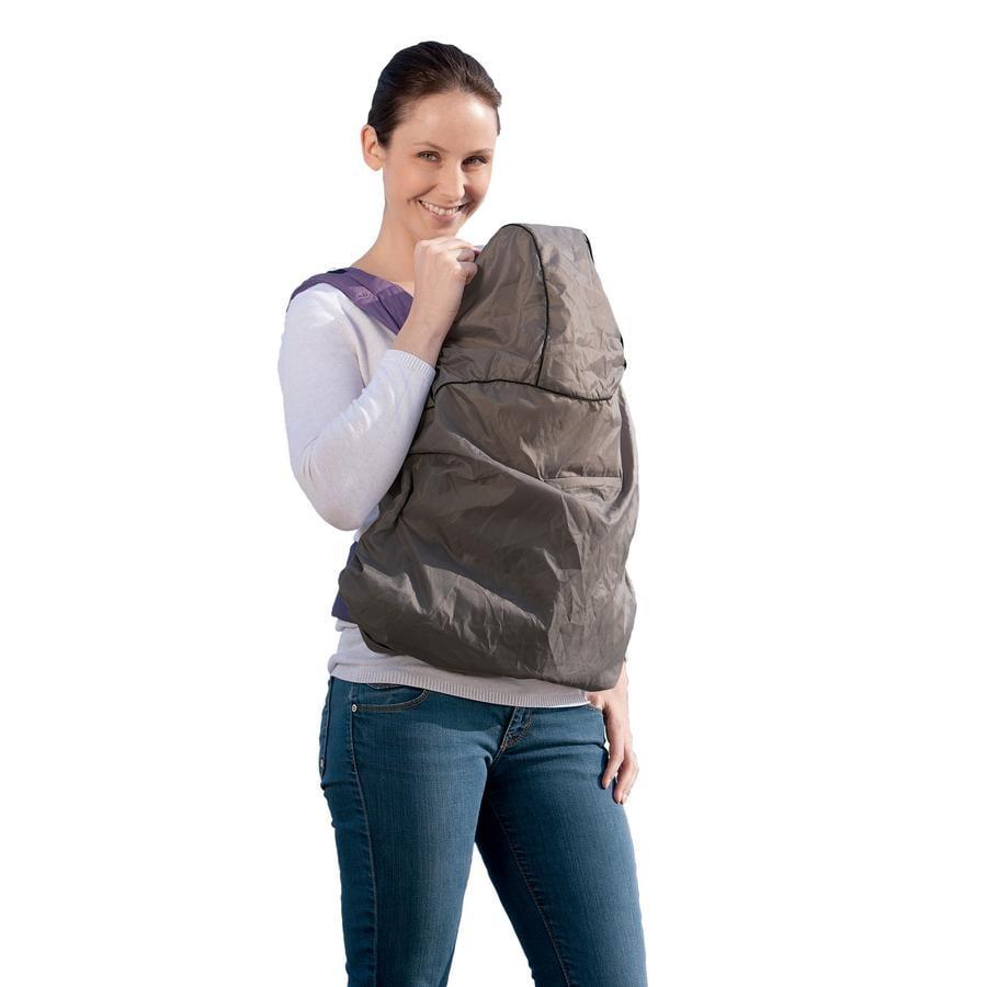 Pláštěnka pro dětská nosítka AMAZONAS Raincover - šedá