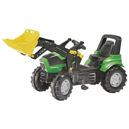 ROLLY TOYS Farmtrac Traktori Deutz-Fahr Agrotron X 720 + kauha