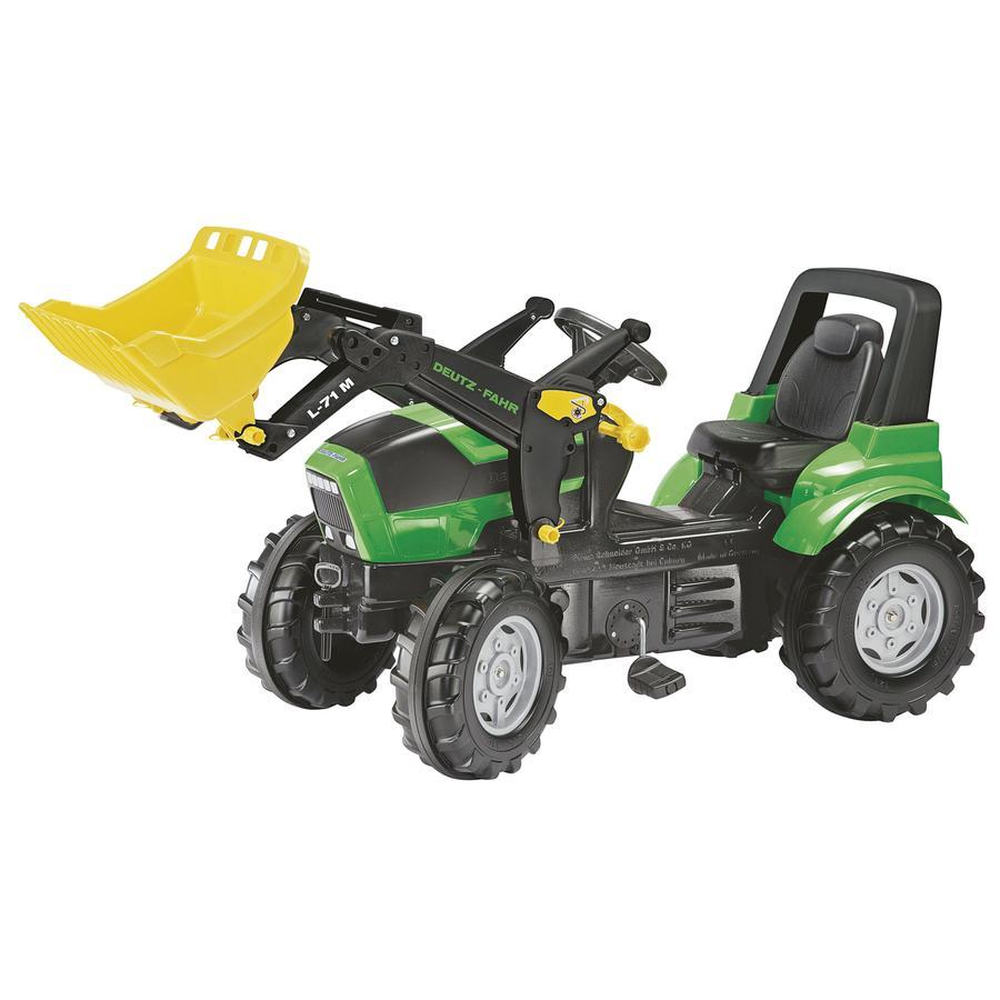 rolly®toys Tracteur enfant Farmtrac Deutz Agrotron X 720 avec pelle 710034