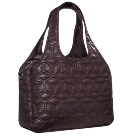 LÄSSIG Sac à langer Global Bag Glam chocolat