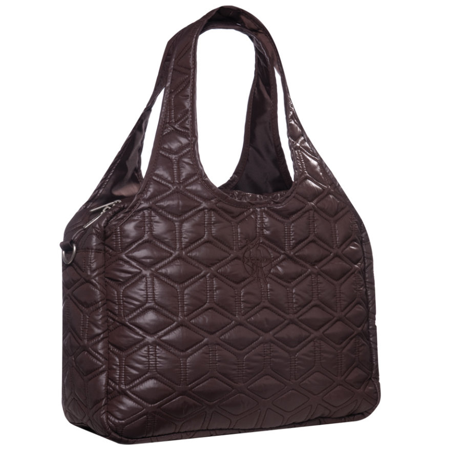 LÄSSIG Luiertas Global Bag Glam choco