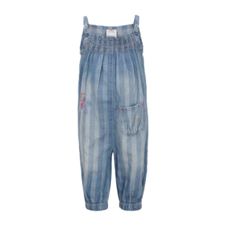 s.OLIVER Girls Mini Jeans Salopette blue denim