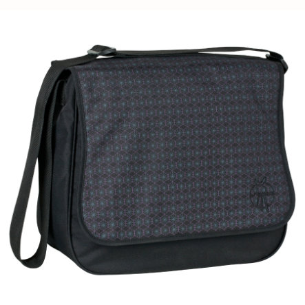 LÄSSIG Luiertas Basic Messenger Bag Comb Black