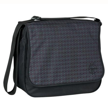 LÄSSIG Sac à langer Basic Messenger Bag Comb Black