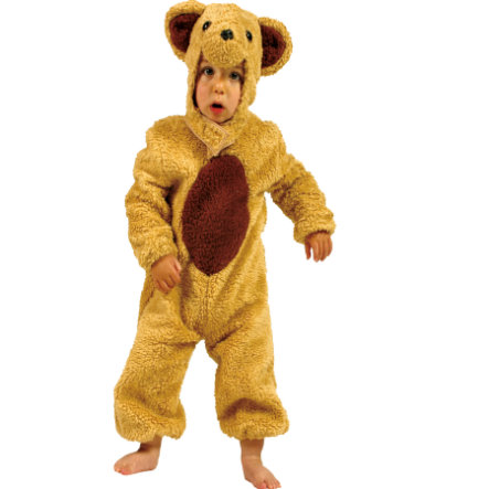 FUNNY FASHION Carnival Costume Bear Honey
