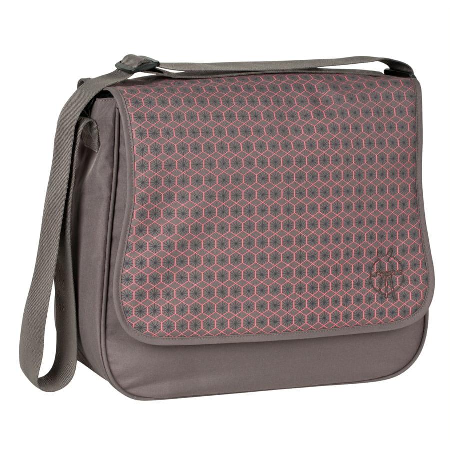 LÄSSIG Luiertas Basic Messenger Bag Comb slate