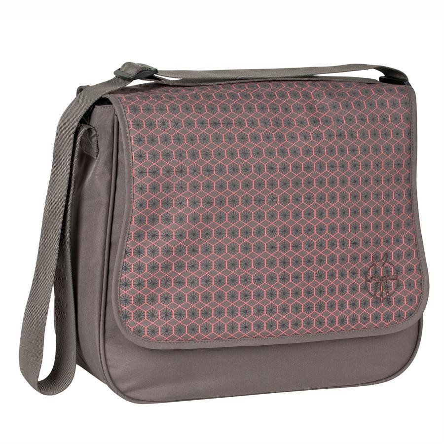 Lässig Wickeltasche Basic Messenger Bag Comb slate