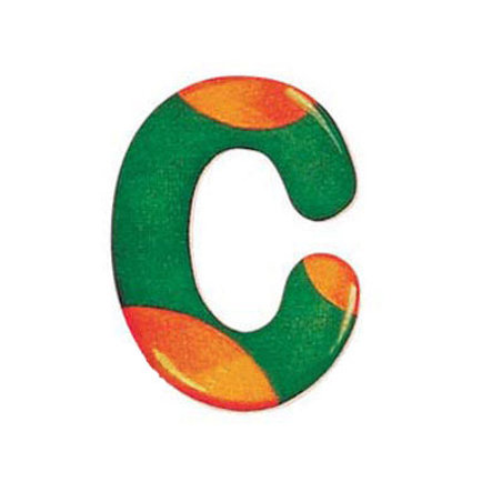 SELECTA Wooden Letter C