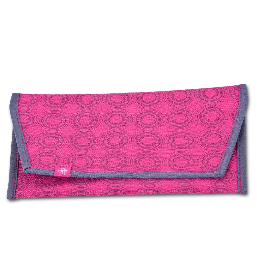 LÄSSIG Casual Nappy Bag na pleny magenta/ash