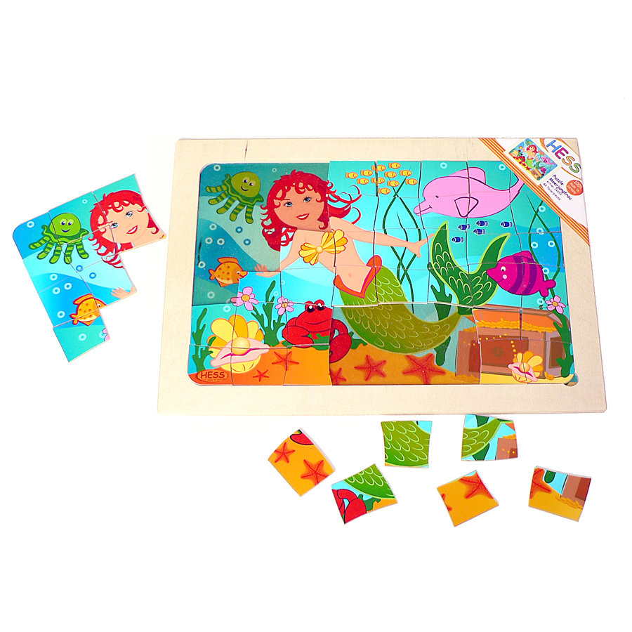 HESS Puzzle - Mermaid
