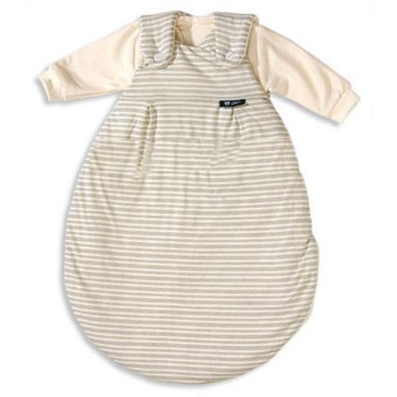 Alvi dětský originální spací vak MÄXCHEN proužkovaný béžový (105/6) velikost 44