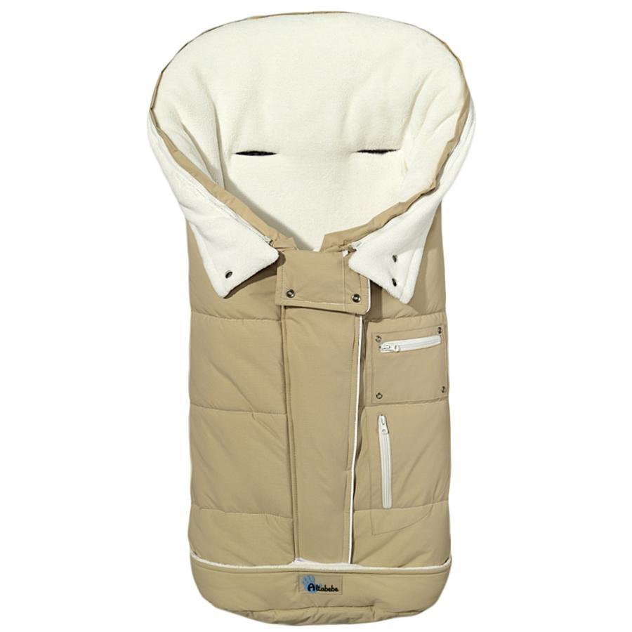 Altabebe Wintervoetenzak Klimaguard beige-whitewash
