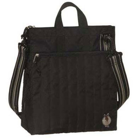 LÄSSIG Borsa fasciatoio Casual Star Buggy Bag Solid Black, colore nero