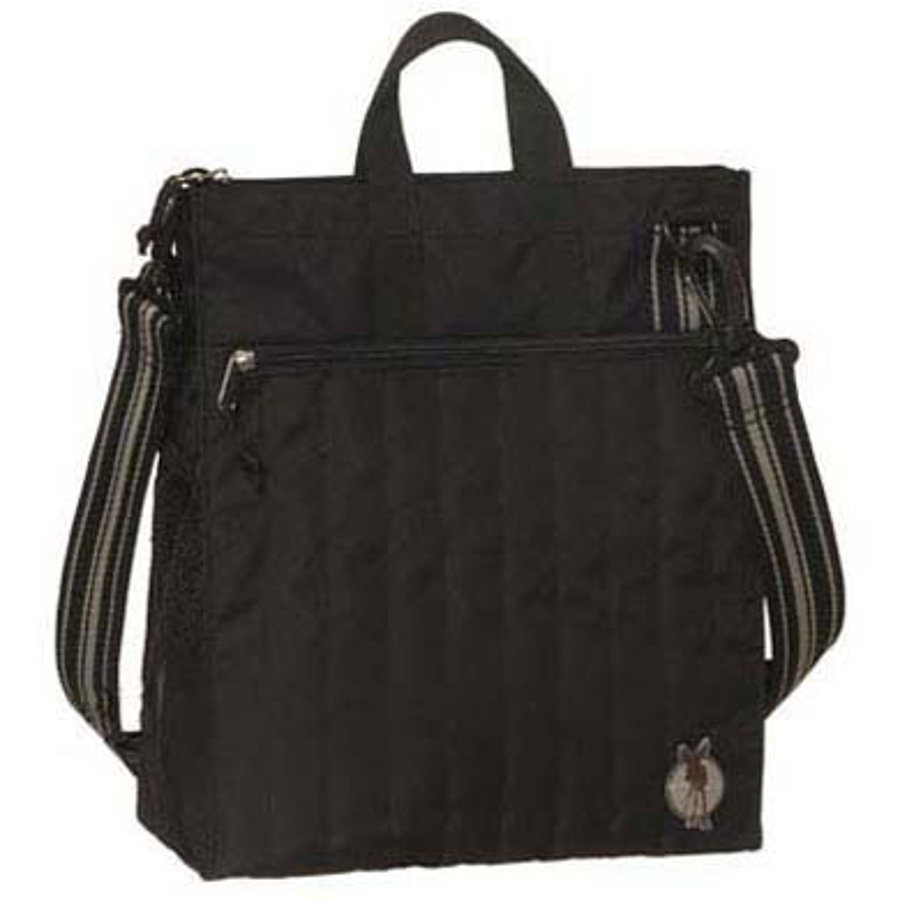 Lässig Wickeltasche Casual Buggy Bag Solid Black
