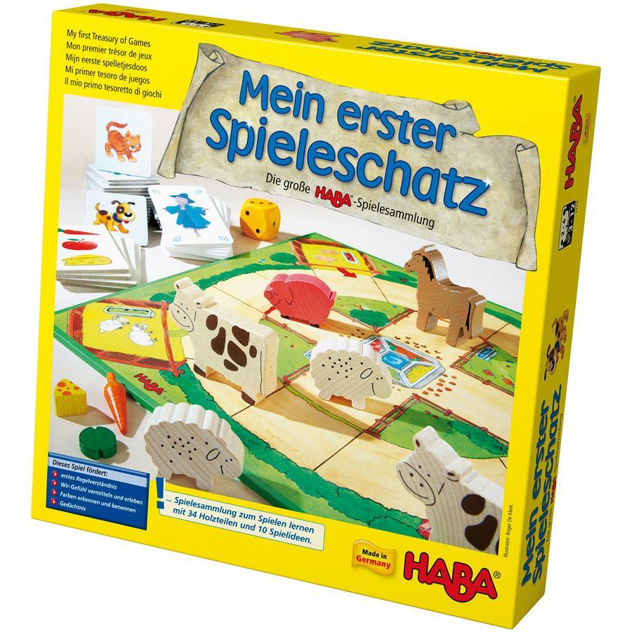 HABA Mi primer tesoro de juegos La gran colección de juegos de HABA 4278