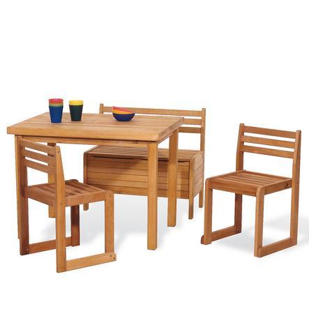 PINOLINO Set Tavolo con Sedie Peter 4 pezzi