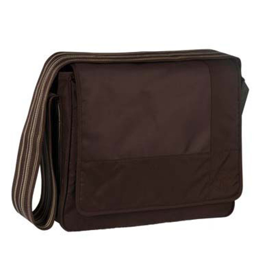 LÄSSIG Torba na akcesoria do przewijania Messenger Bag Classic Design Patchwork - kolor choco