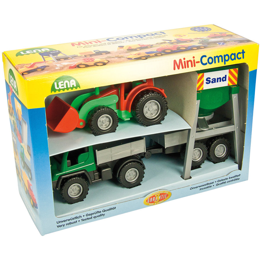 LENA Mini Compact Farm Set