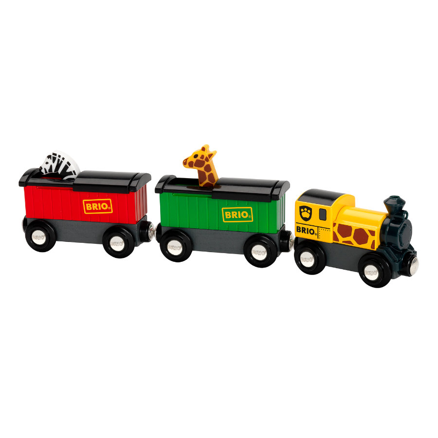 BRIO® WORLD Safari Zug 33722