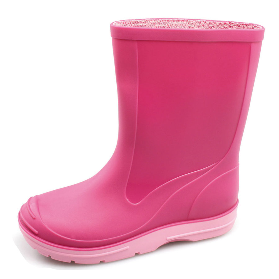 BECK Girls Stivaletti in gomma PVC - BASIC pink