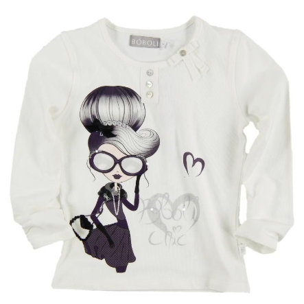 BOBOLI Girls Longsleeve Wit