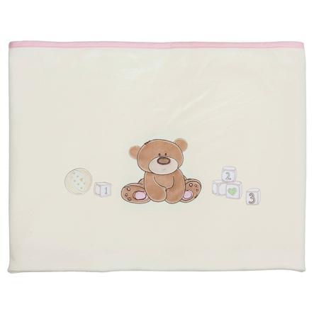 FILLIKID Deka Jersey medvídek růžová