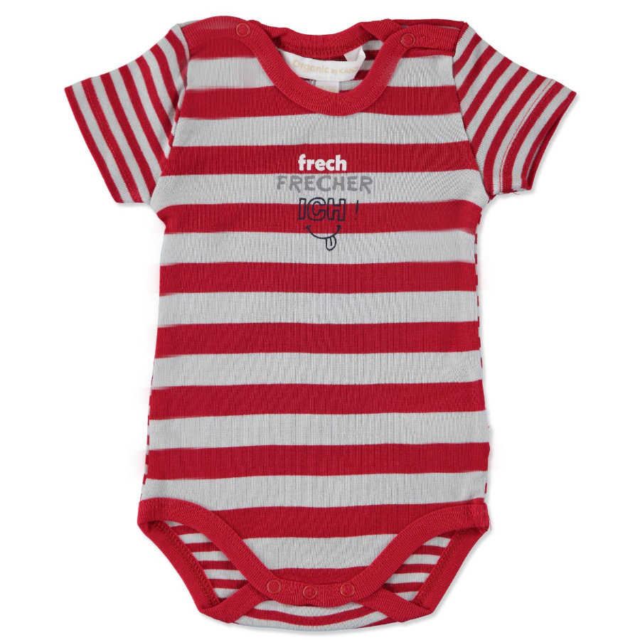 KANZ Boys Baby Body 1/4 Arm tango red