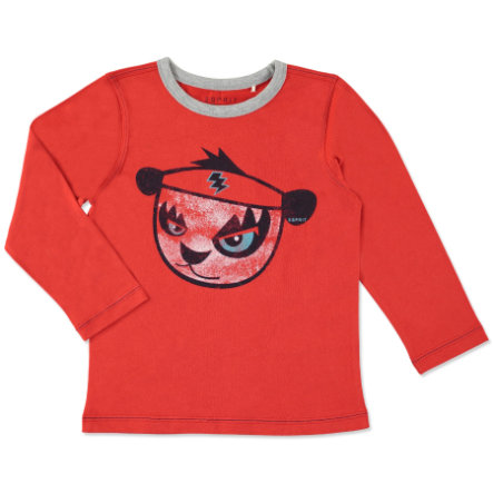 ESPRIT Boys Mini T-shirt à manches longues WATCHING YOU flame red
