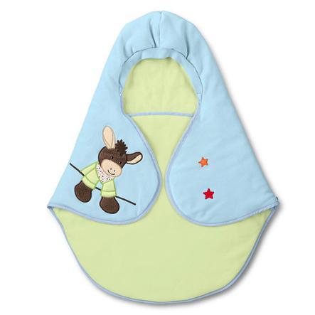 STERNTALER Wrap Blanket Donkey Emmi, micro fleece