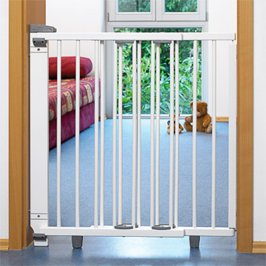 GEUTHER Swinging Door Gate 65-105cm white (2732)