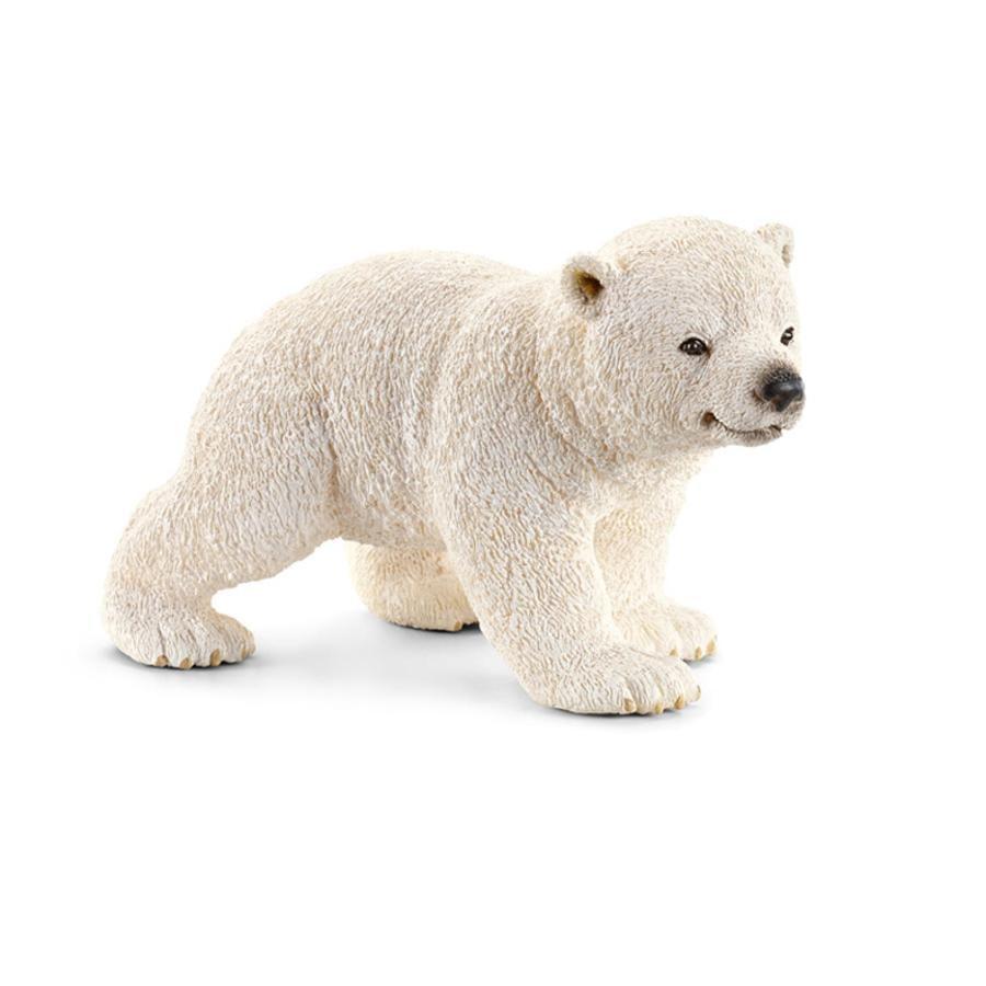 SCHLEICH Cucciolo di orso polare, che corre 14708